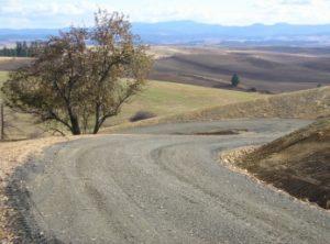 gravel roads & driveways by Hatter Creek Earthworks Princeton Idaho