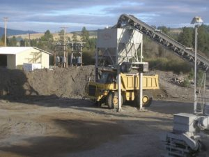 rock and gravel sales-and delivery by Hatter Creek Earthworks Princeton Idaho