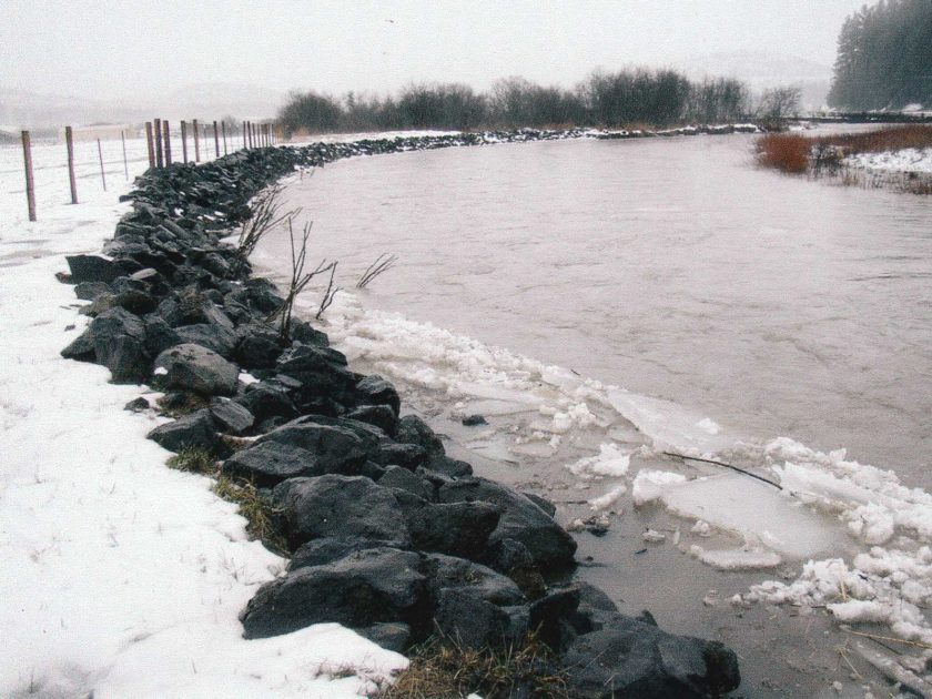 Palouse River Banks Stabilization near Harvard – 2004