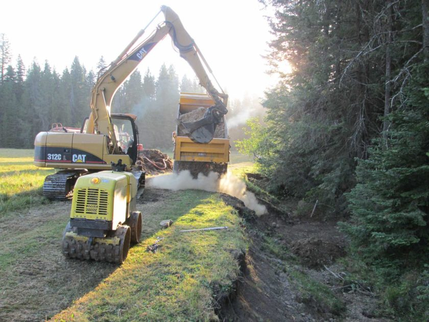 U.S. Forest Service Stream and Meadow Restoration