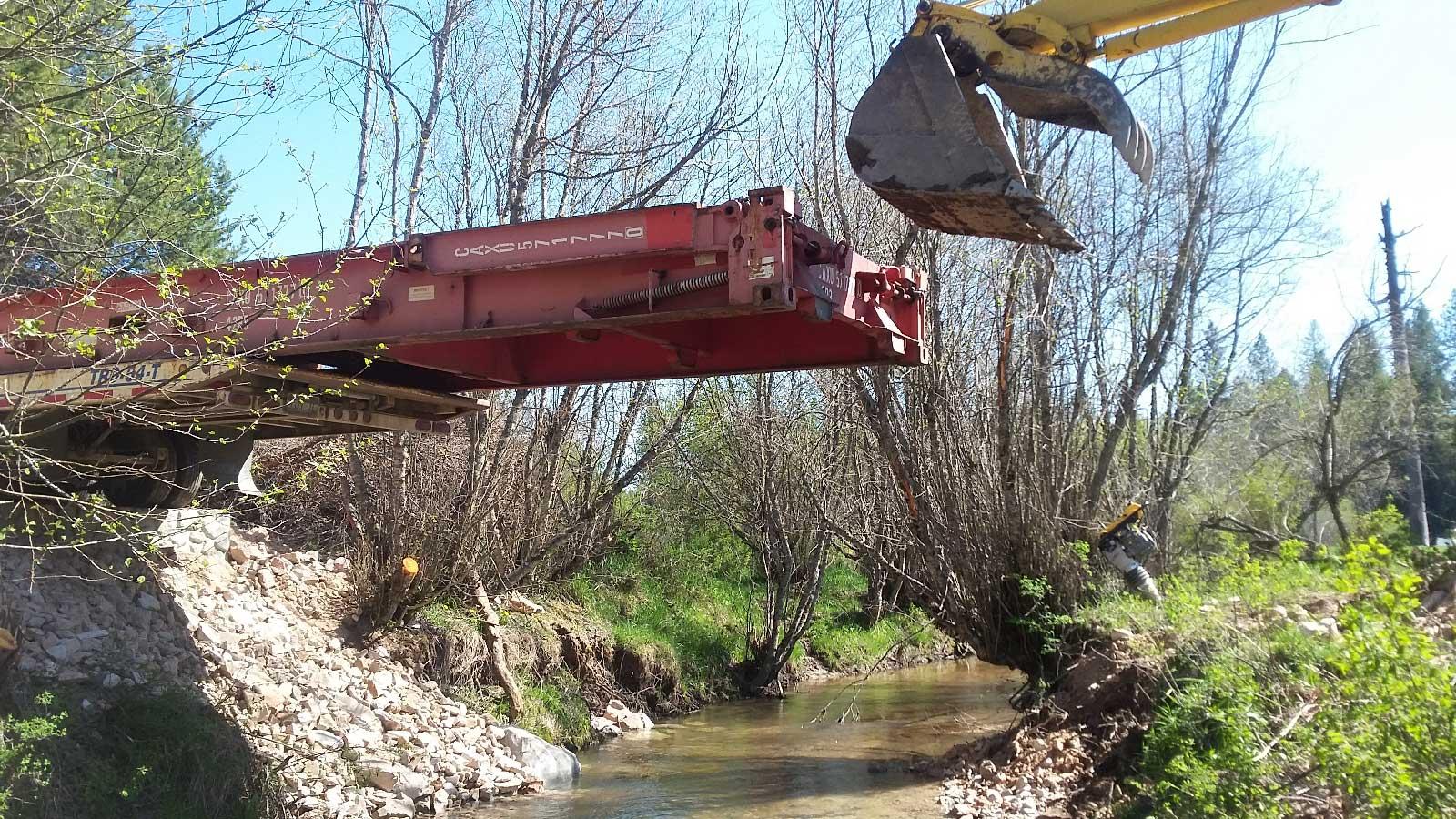 Hatter Creek Earthworks - Princeton Idaho