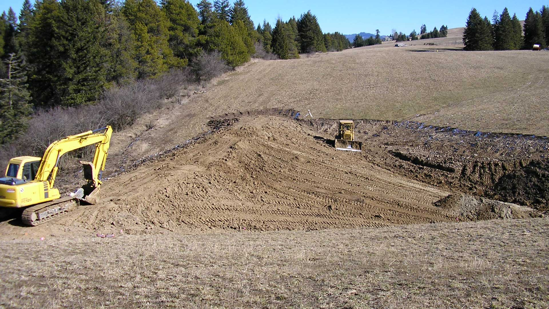 Idaho Pond Construction