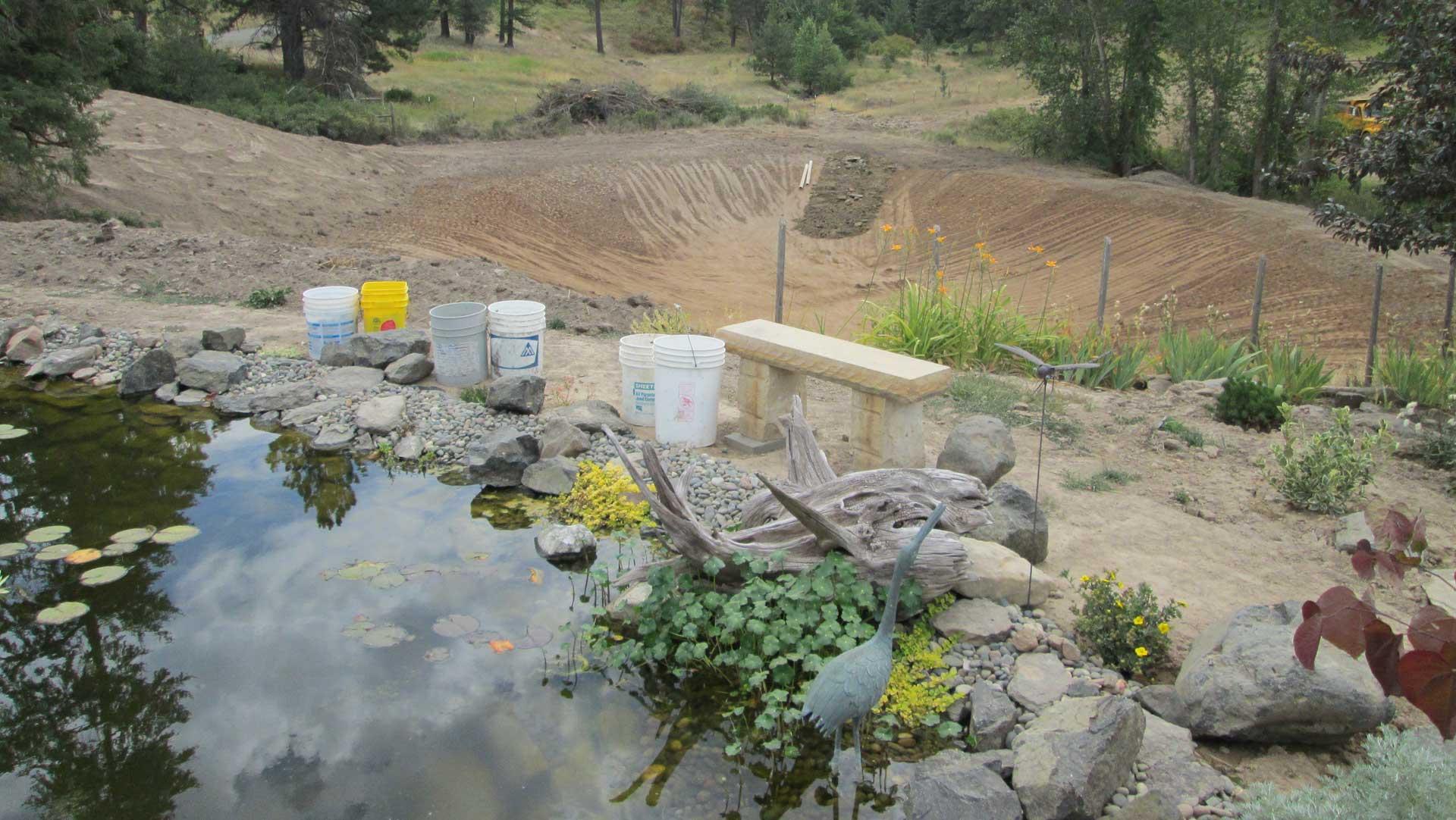 Idaho Pond Construction