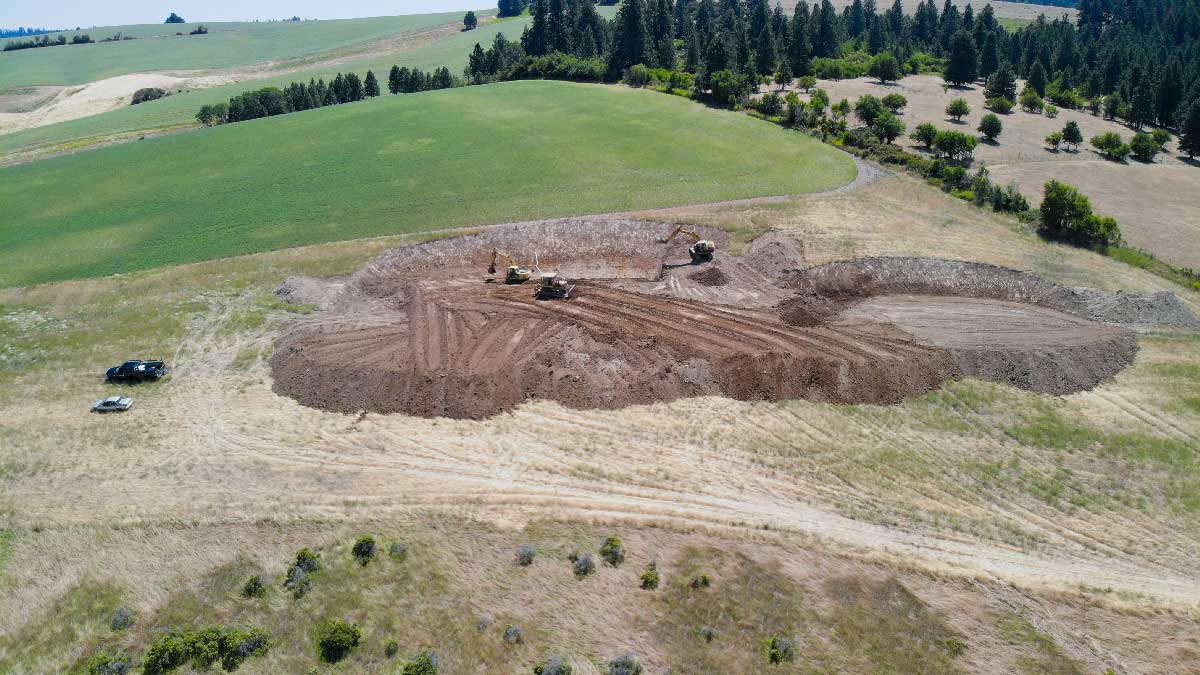 Hatter Creek Earthworks Excavation Road Building