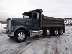 International Eagle Dump Truck